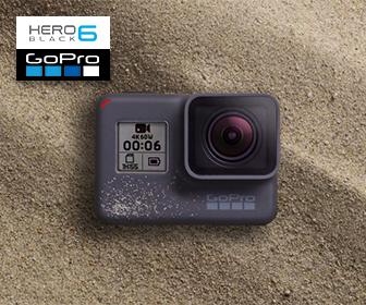 GoPro HERO6 Black 4K 超高清攝像機 (租借)