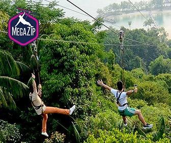 新加坡極限飛索門票 Megazip Singapore