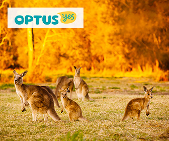 澳洲電話卡 - Optus 澳洲10天無限流量數據卡