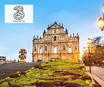 3澳門2天/3天無限流量 3G/4G數據卡 Macau Prepaid Sim Card - 4G LTE