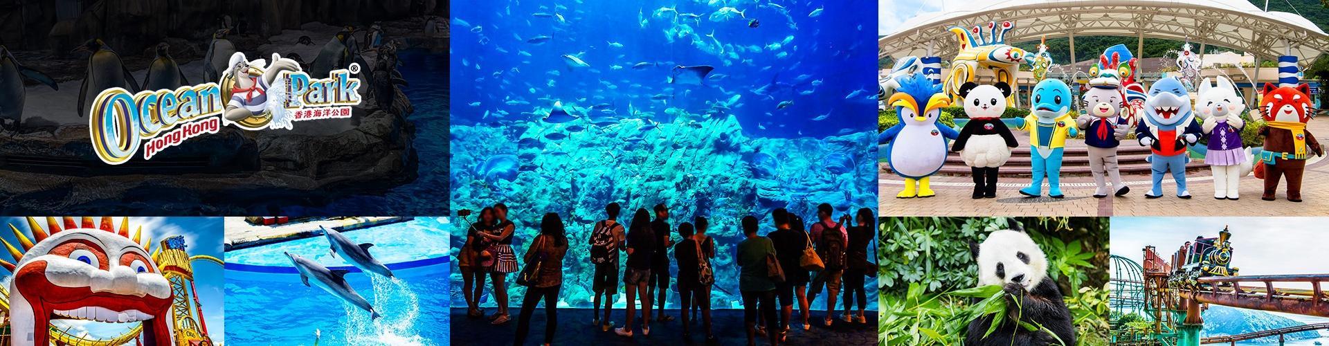 【夏日優惠】香港海洋公園門票優惠 (含園內現金券)