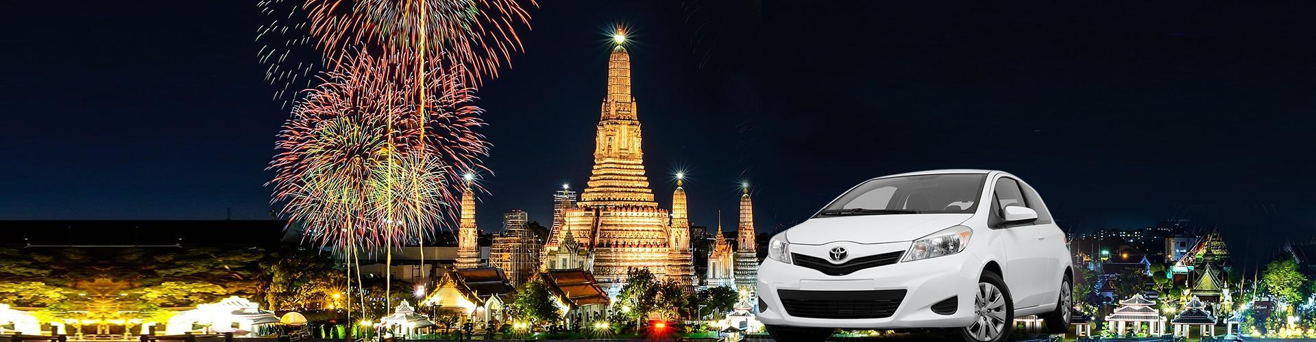 包車遊覽 - 曼谷市區 半天/全天 私人包車服務連司機 Private Car Charter Thailand Bangkok