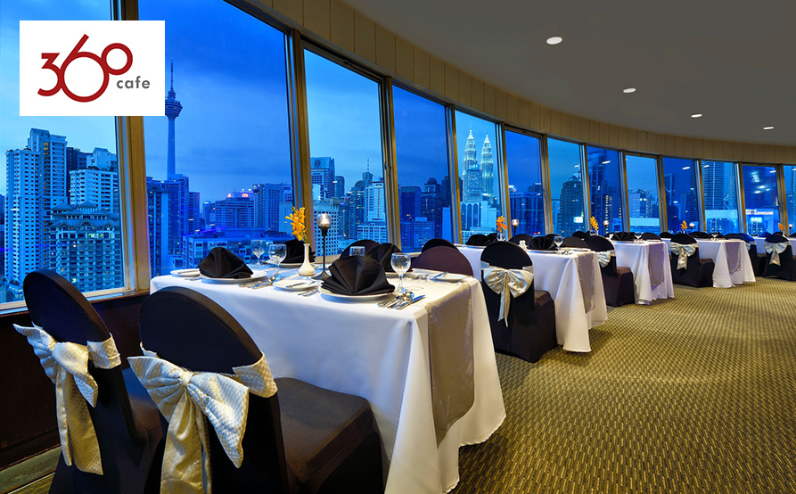 360旋轉餐廳