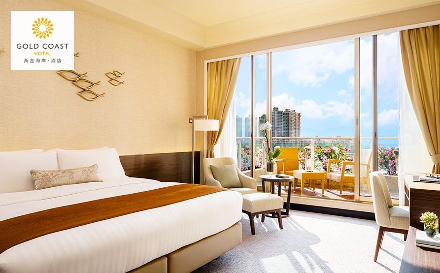 豪華海景客房連露台 Deluxe Seaview Room with Balcony