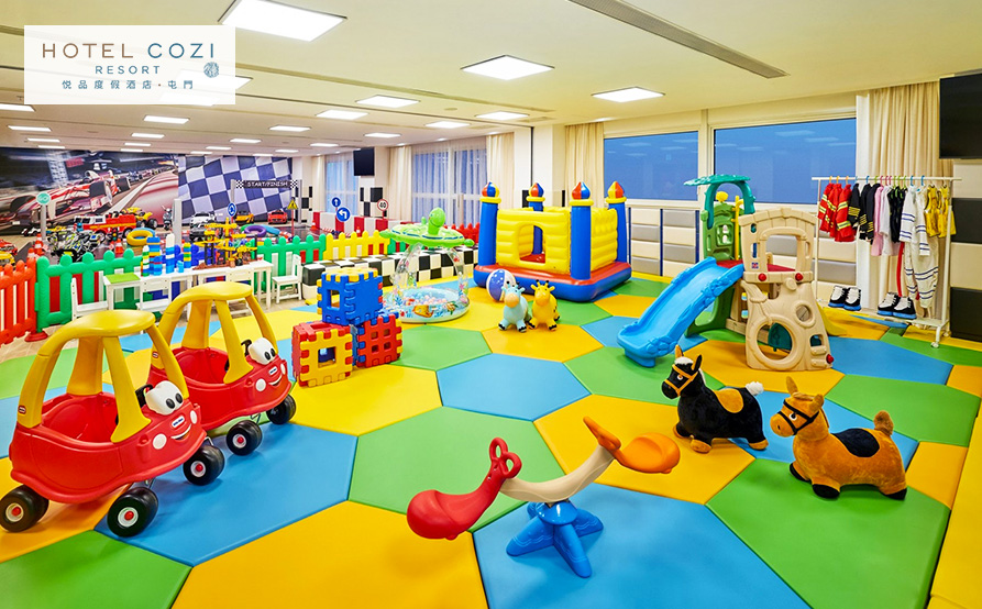 兒童樂園<br>小朋友的玩樂童趣天地,更添歡樂旅程