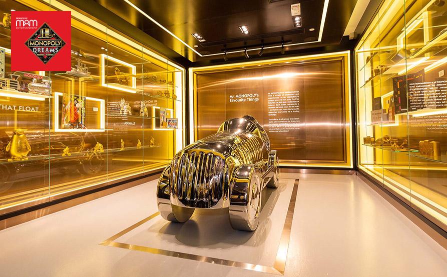 大富翁先生超級跑車: 被Guinness 世界紀錄認證的豪車,按下發動鍵,感受神氣的引擎轟鳴!