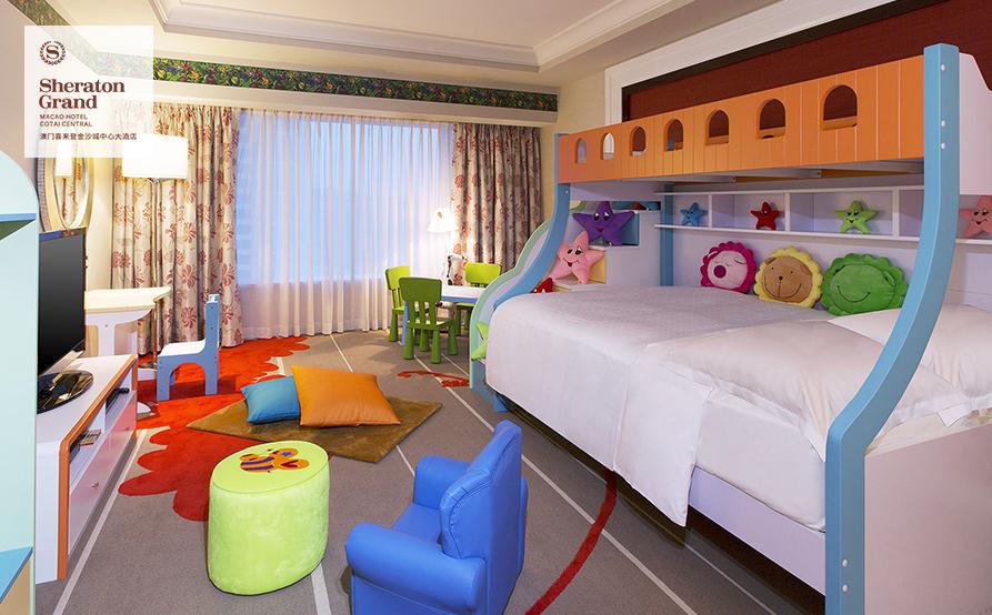 兒童主題房 雙層床