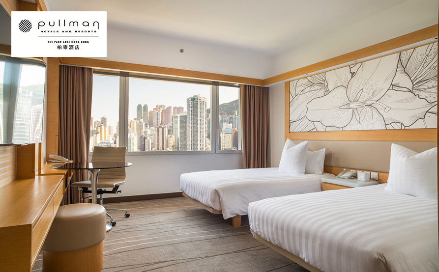 尊貴豪華客房(維園景觀) Premium Deluxe Room
